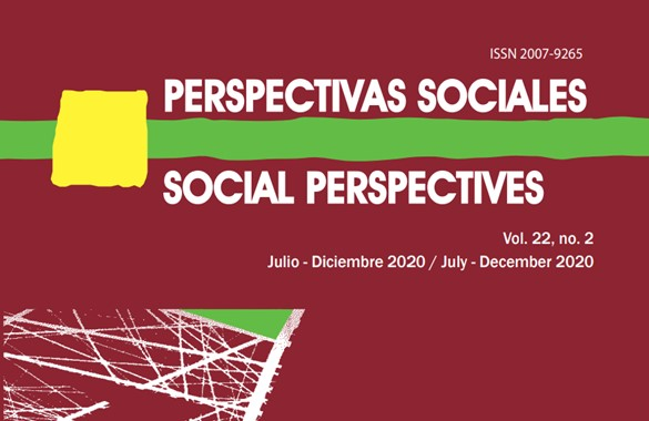 Ver Vol. 22 Núm. 2: Perspectivas Sociales / Social Perspectives